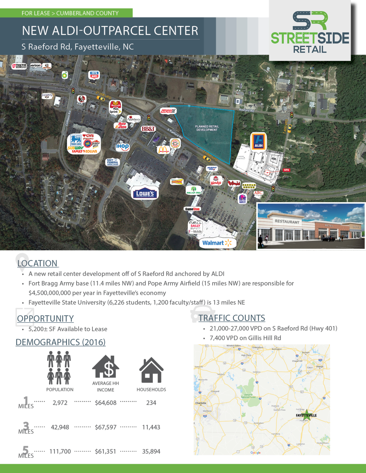 Fayetteville, NC - S Raeford Rd - Marketing Materials3